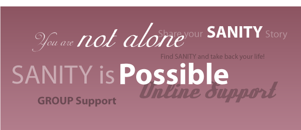 SANITY Support - Allison Bottke