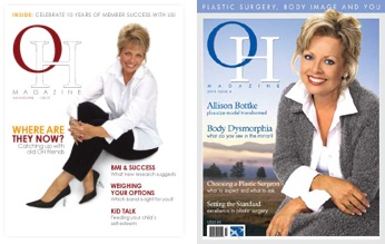 Allison Bottke Obesity Help Magazine Cover Shots