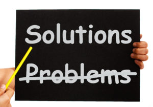 Solutions Not Problems Notice On Board