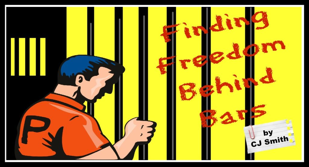 Graphic banner of Finding Freedom Behind Bars header